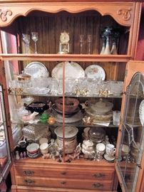 Tons of dishes all vintage