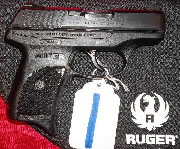 RUGER LC9S, 9MM