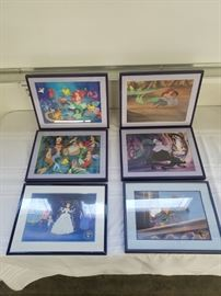 Walt Disney Framed Little Mermaid Prints