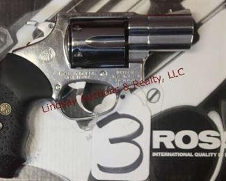"3 - ROSSI 462 357 REVOLVER 2"", NICKEL, BOX"