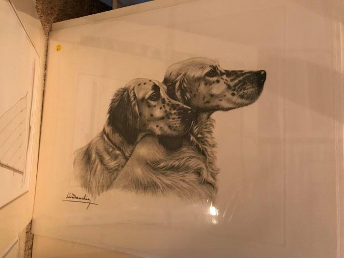 Dog Print - 1 of Many Prints