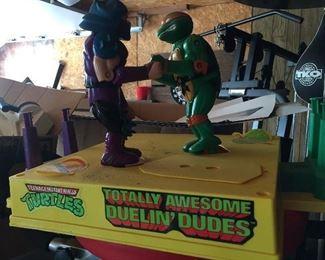 Teenage Ninja Turtles Duelin' Dudes