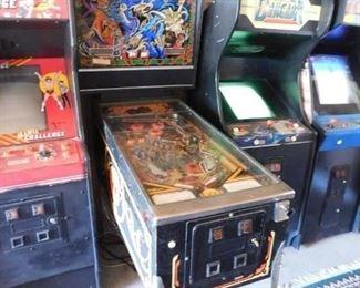 Williams Sorcerer Pinball Machine