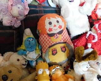 Vintage Dolls(Smurfs, Garfield and more)