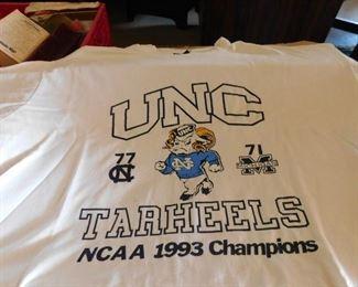 1993 UNC Tarheel Championship T-shirt