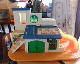 Vintage Fisher Price Clubhouse