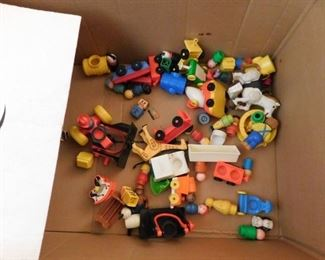 Vintage Fisher Price People and Accessories