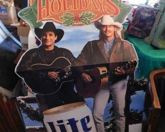 Lite Beer Standee(Clint Black, Alan Jackson)