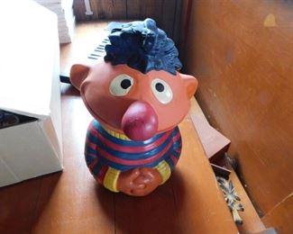 Ernie Cookie Jar
