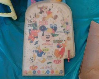 Mickey Mouse Pinball Machine
