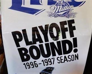 1997 Carolina Panthers Playoff Banner