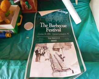 Vintage Barbecue Festival Posters