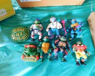 Ninja Turtle Figures