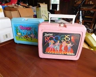 Snorks Lunch Box/Barbie Rockers Lunch Box