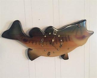 Wooden Fish Clock