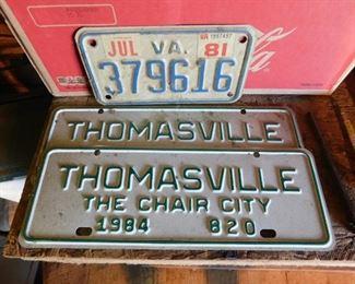 Thomasville City Tags