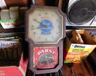 Pabst Clock