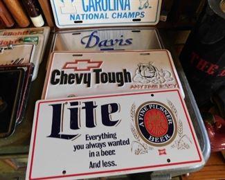 Metal Lite Beer Plate