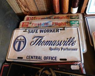 Thomasville Furniture License Plate