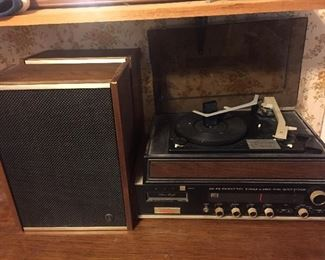 Vintage Decca Stereo(Eight Track)