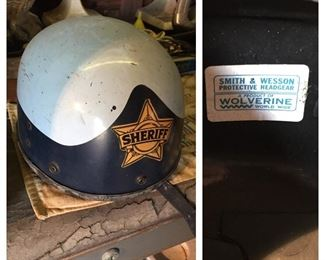 Smith & Wesson Sheriff Motorcycle Helmet