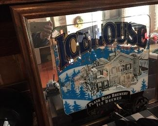 Icehouse Lighted Beer Mirror