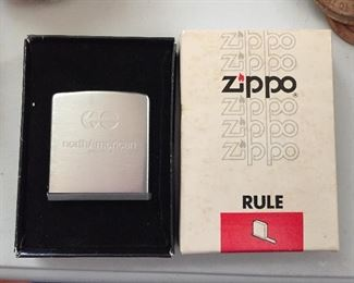 Zippo North American Van Lines Advertising Tape Measure