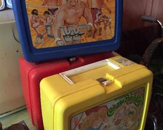 WWF, Cabbage Patch Kids Lunchboxes