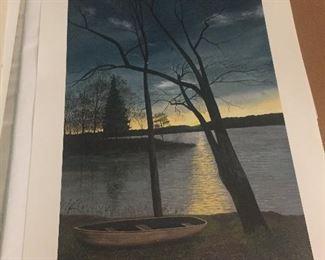 High Rock Lake Print