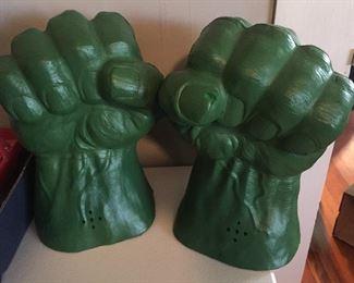 Pair of Hulk Fists