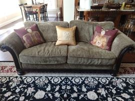"Bernhardt ""Cassatt"" sofa, which has a matching love seat."