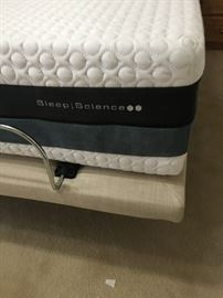 King Sleep Science Dual Adjustable Bed with Massage $6000 value - Save thousands!