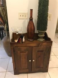 Cabinet and decor items