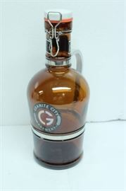 GRANITE CITY BERWERY GLASS BOTTLE