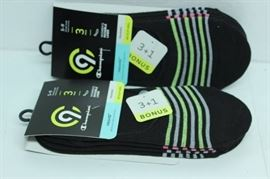 LOT OF 2 CHAMPION C9 WOMENS INVISIBLE LINER SOCKS ...
