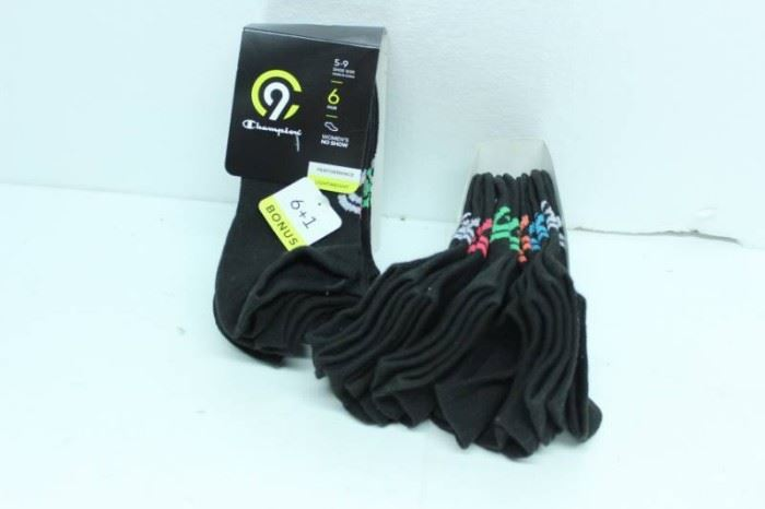 LOT OF 2 CHAMPION C9 WOMENS NO SHOW SOCKS SIZE 5 ...
