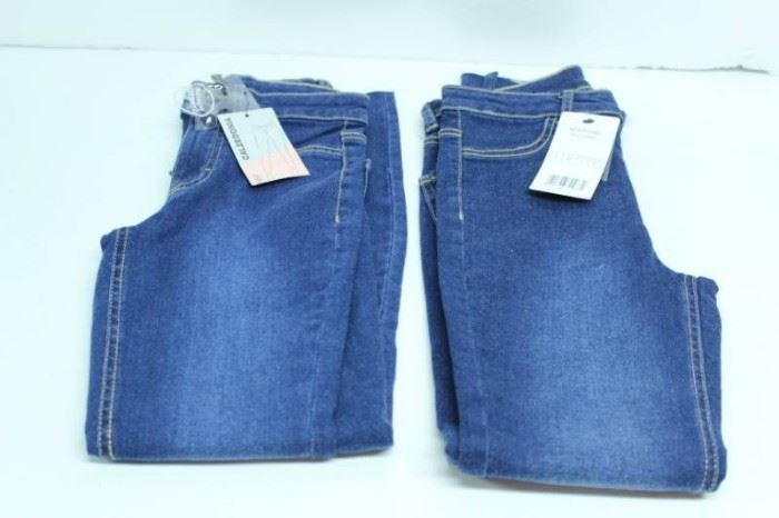 LOT OF 2 JEANS CALZEDONIA SIZE S