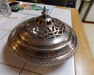 Sterling Covered Dish