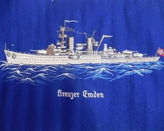 Kreuzer Emden German Cruiser WWII
