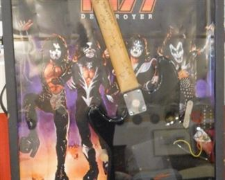 Kiss Signed Guitar