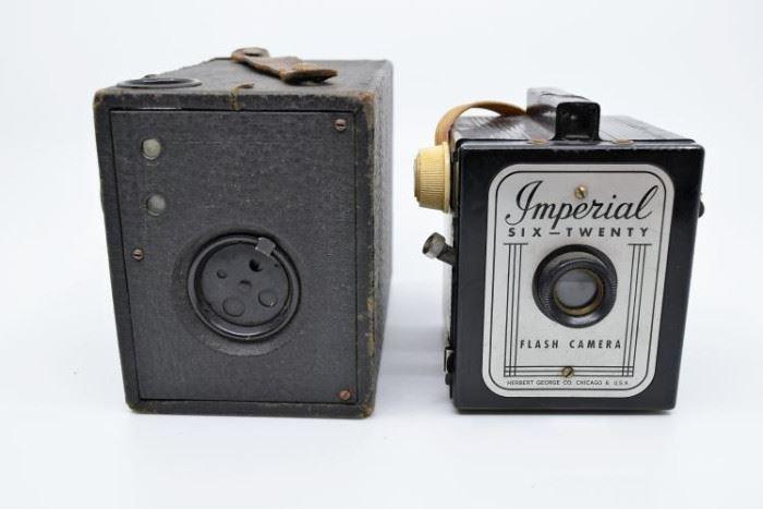 Pair of Antique Box Cameras https://ctbids.com/#!/description/share/101265