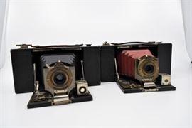 Pair of No. 2 Folding Pocket Kodak Brownie Cameras https://ctbids.com/#!/description/share/101267