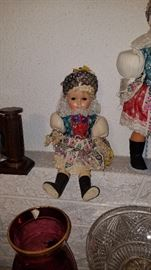 Older Czechoslovakian doll