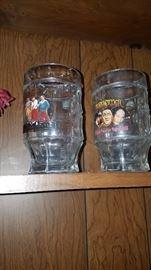 Three Stooges mugs