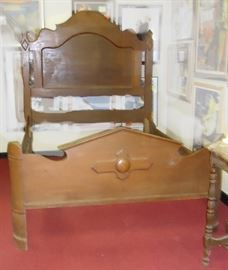 One of several Antique beds