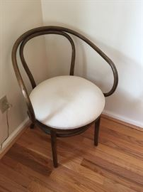 Sculptural lines define this elegant Bentwood Armchair.