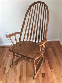 Windsor-style Rocking Chair