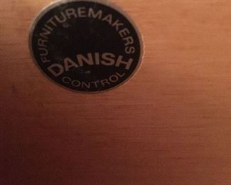 A label adopted mid-century to ensure quality craftsmanship from Danish manufacturers.