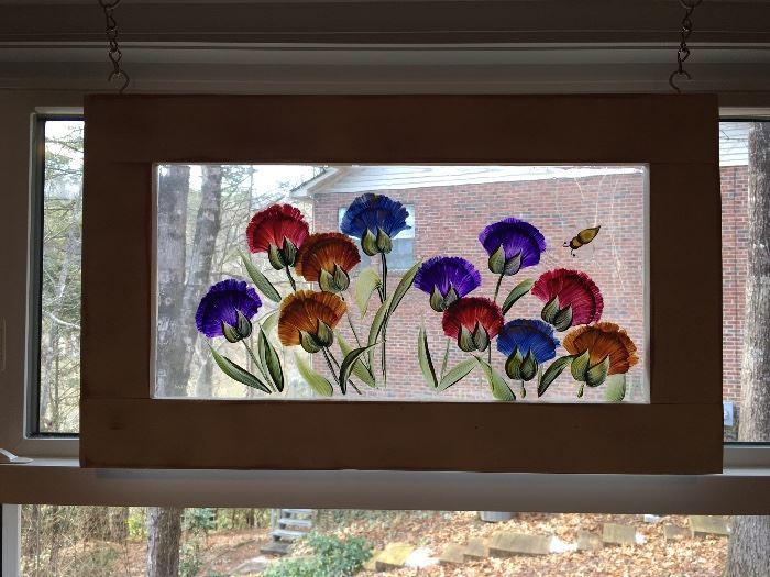 Hand painted Decorative Window