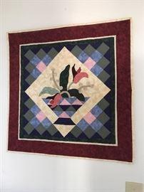 Square handmade Quilt